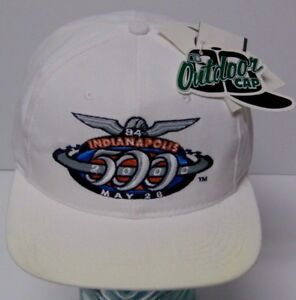 2000-84th-INDIANAPOLIS-500-Indy-Racing-League-SNAPBACK-HAT-CAP-Made-in-USA