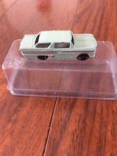 Vintage 1950 American Car Light Green Silver Trim Metal Base Ho Miniature Japan