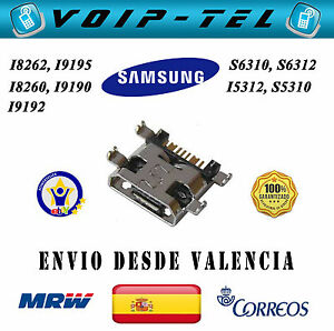 3x-USB-CONECTOR-DE-CARGA-SAMSUNG-I8260-I8262-I9190-I9192-I9195-S5310-S6310-S6312