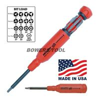 Megapro 151TP2 15-In-1 Tamperproof 2 Driver, Red (831044012656) Tools and Accessories