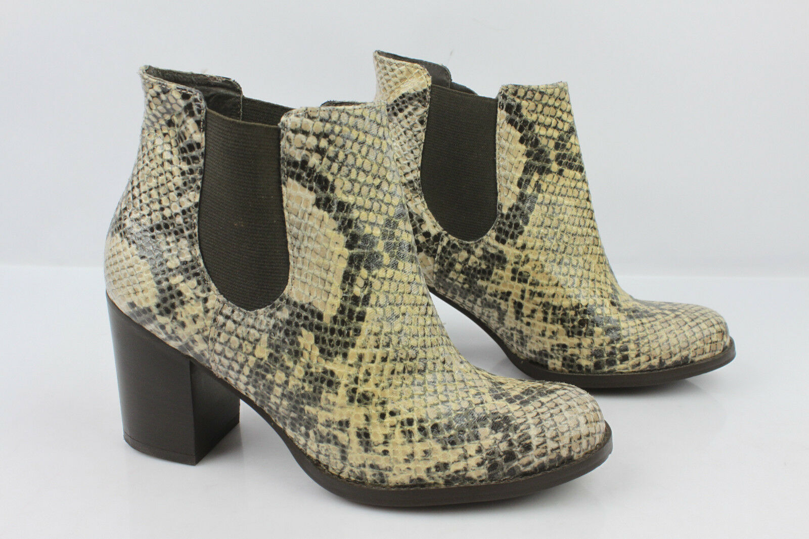 Boots Booties TEXTO Way Python Snake T 36 TOP CONDITION
