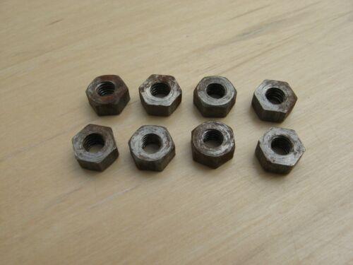 1 BA surface rust 1BA steel nuts various quantities