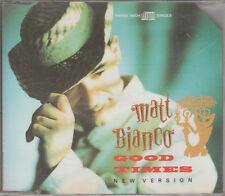Matt Bianco  CD-SINGLE GOOD TIMES ( 3inch)