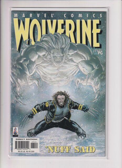 Wolverine # 171 1st Print ~'NUFF SAID~  (Marvel, 2002)