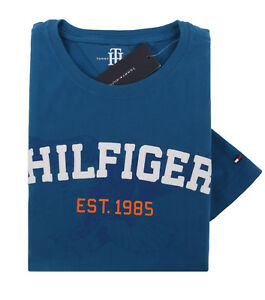 085ee5ccd2db Tommy Hilfiger Men's Short Sleeve Crew-Neck Printed Tee T-Shirt - $0 ...
