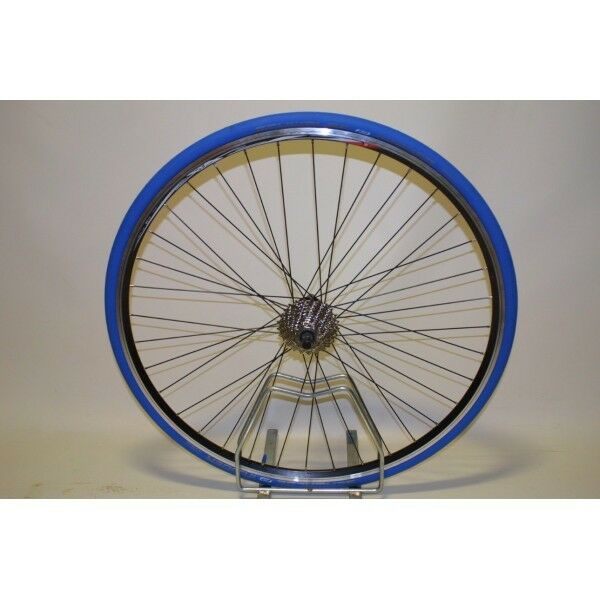 SHIMANO 8 SPEED CASSETTE 700C REAR TURBO TRAINER WHEEL WITH TYRE & CASS