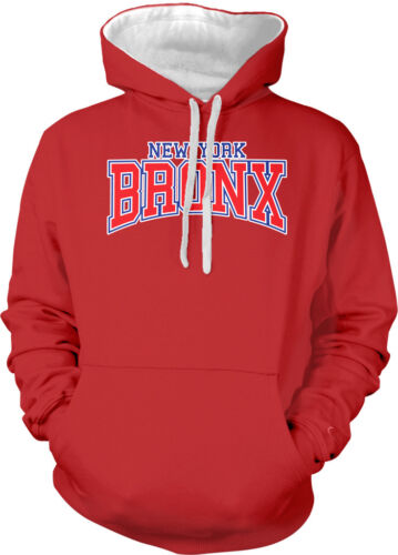 New York Bronx NYC Pride Yankee Northerner Big Apple City 2-tone Hoodie Pullover