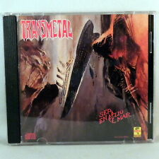 Transmetal - Sepelio En El Mar CD Mexican Death Metal Thrash Near MINT