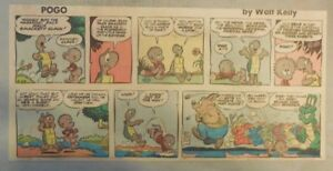 Details about Pogo Sunday by Walt Kelly from 6 29 1958 Third Page Size! 839b71b0c1bb