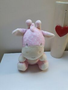 JEEL-TOYS-Cute-White-Pink-Baby-Giraffe-Soft-Plush-Toy-Cuddling-Approx-10-034