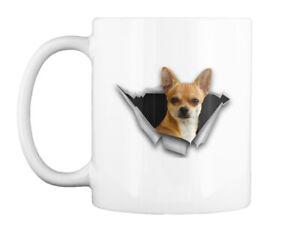 Unique Torn Chihuahua Gift Coffee Mug Gift Coffee Mug