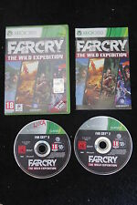 XBOX 360 : FAR CRY : THE WILD EXPEDITION - Completo, ITA ! Quattro giochi in uno