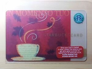 Rare-2007-034-UN-MOMENTO-TUO-034-Starbucks-UK-Payment-Card-SKU-1157751