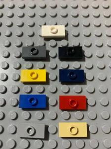 Jumper Choose Color Plate 2x2 Groove /& Stud Center 6pcs LEGO Parts 87580