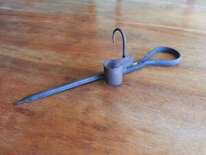 Miner Candle Holder Tommy Stick Sticking Tommy
