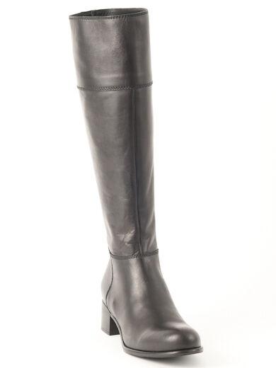 New  Miu Miu by Prada  Black Knee-High Leather Boots 36 us 6