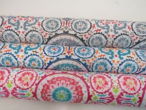 Moroccon-Designer-Abstract-Patterned-Bright-Cotton-Fabric-Curtain-Upholstery