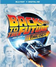 Back to the Future Trilogy (Blu-ray Disc, 2015, 4-Disc Set)