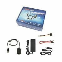 Agptek Sata/pata/ide Drive To Usb 2.0 Adapter Converter Cable F... Free Shipping