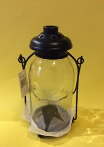 NEW Yankee Candle Mason Jar Tealight Lantern Country ...