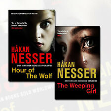 Hakan Nesser Collection The Van Veeteren Series 2 Books Set Hour of the Wolf NEW