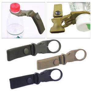 1X Tactical Nylon Molle Hanging Strap Webbing Buckle Clip Key Bottle Hook BeltHC