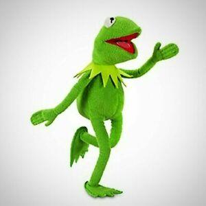 PELUCHE-DOUDOU-Kermit-La-Grenouille-Vert-poupee-cadeau-de-noel-jouet-Enfant-40cm