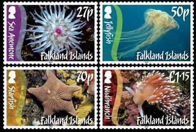 Aus Dem Ausland Importiert Falkland Islands Marine Life Meerestiere Quallen Seestern 2012 ** Mi. 1156/59 Ohne RüCkgabe