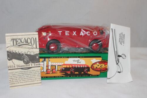 Ertl 1934 Doodle Bug Texaco Gasoline Truck Bank Diamond T Mint Boxed