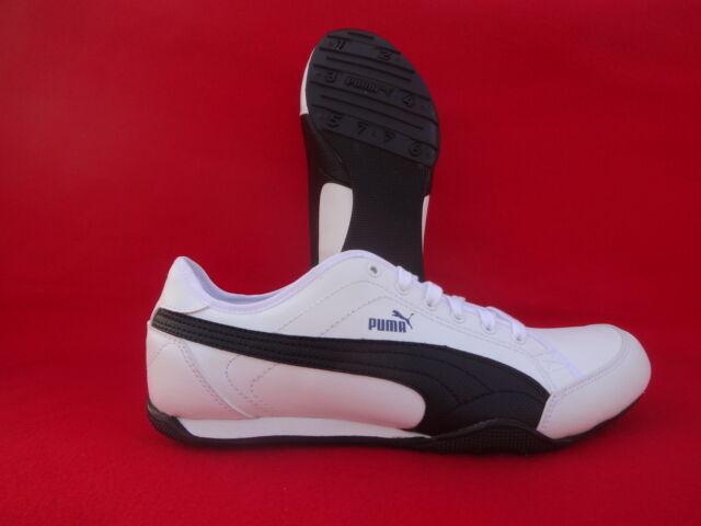Puma Merit New FS4 weiss Herren Schuhe 40 Sneaker weiß tolles Design Frauen  neu