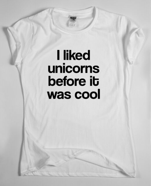 UNICORN T SHIRT TOP Dope Hipster Indie Swag Tumblr Tee Fresh Funny Retro