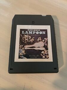 NATIONAL-LAMPOON-The-Humor-Magazine-Goodbye-Pop-8-Track-Tape-Bill-Murray