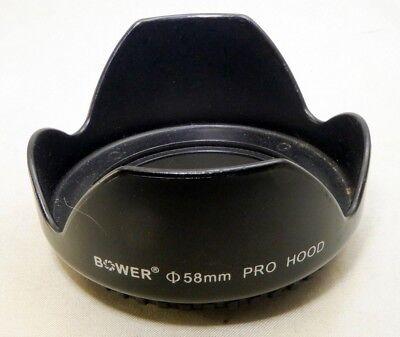 Sensei 52mm Screw-on Tulip Lens Hood 3 Pack