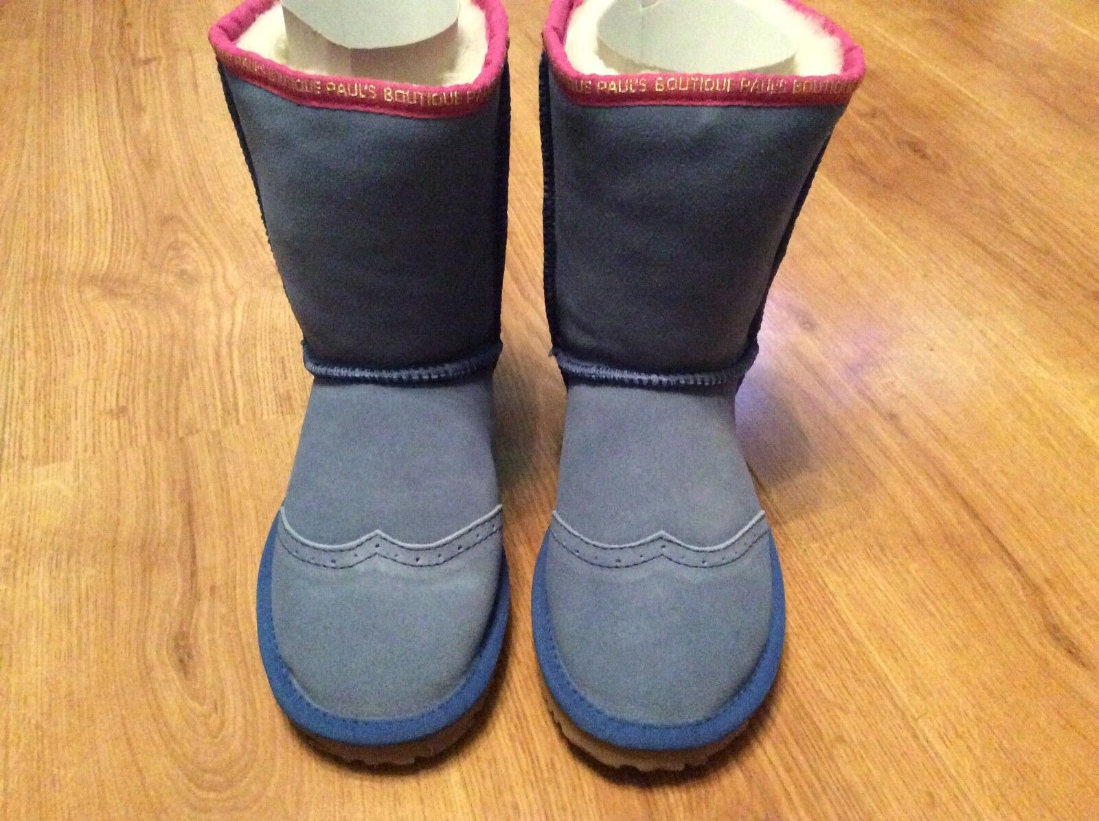 Paul's Boutique De Piel De Oveja botas al tobillo