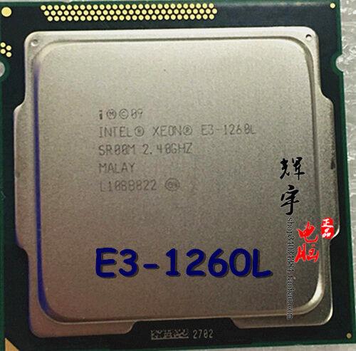 Intel Xeon E3-1260L SR00M 2.40 GHz QUAD(4)CORE CPU processor Socket LGA 1155 45W