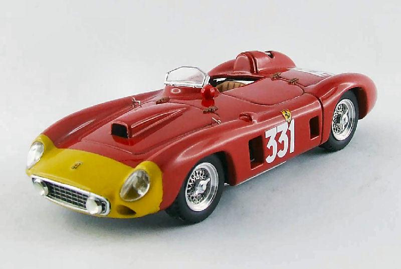 Ferrari 290 MM  331 Retirouge (Giro Veloce) Targa Florio 1956 Castellotti 1 43