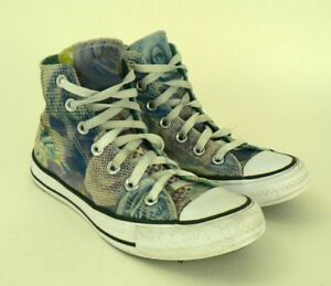 8f9e86f4d909 Details about Converse Women s High Top Sneakers Chuck Taylor All Star  Flowers Floral size 6