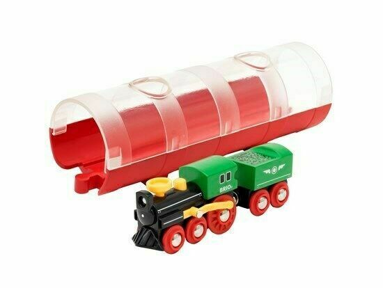 Brio BATTERY POWERED ENGINE Child Nursery Toy Wooden Track Train Gift BNIB