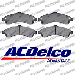 Disc Brake Pads Ceramic Front ACDelco Advantage 14D882CH Fits Chevy Buick Saab