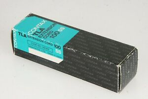 CONTAX TLA EXTENSION CORD 100 SS dans neuf dans sa boîte-afficher le titre d`origine aNoqJio7-07203850-338031221
