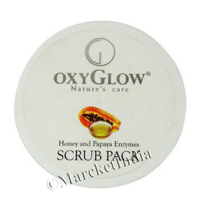 Oxyglow-Honey-amp-Papaya-Enzymes-Scrub-Pack-Gives-Natural-Radiance-To-The-Skin300g