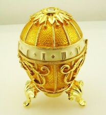 Faberge Bouquet of Lilies Clock Egg