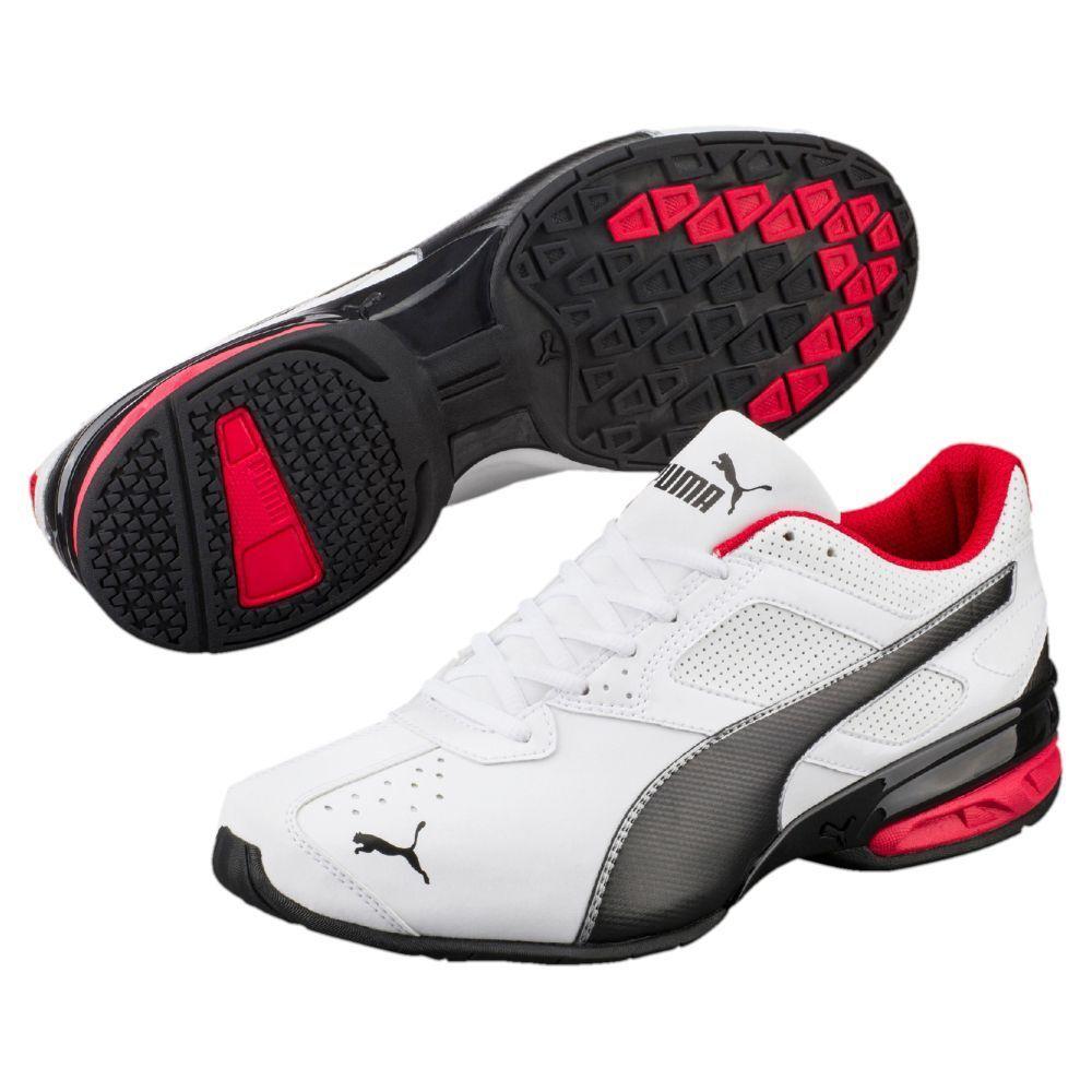 NWT Men's Puma  Tazon 6  Medium&Wide FM  Shoes Voltaic Ignite Surin Reverb White