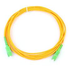 Radio and TV SC/APC-SC/APC fiber patch cord jumper cable,SM,simplex 3m,CATV