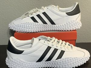 NEW-Adidas-x-Country-Kamanda-Men-Size-12-Leather-White-Shoes-EE5668-Originals