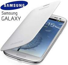Genuine Samsung Galaxy S3 i9300 Original Flip Cover Case EFC-1G6FWECSTD | White