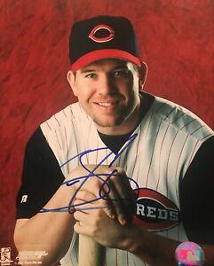 Sean Casey Cincinnati Reds Signed 8x10 Photo