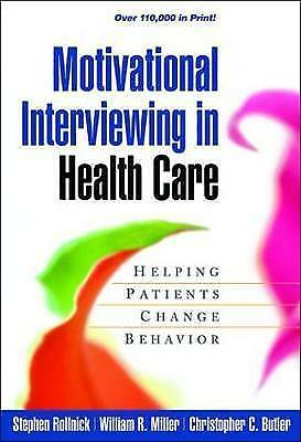 1 of 1 - Motivational Interviewing in Health Care: Helping Patients Change Behavior