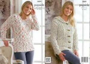 KING-COLE-POPSICLE-COTTON-MIX-DOUBLE-KNITTING-PATTERN-3889
