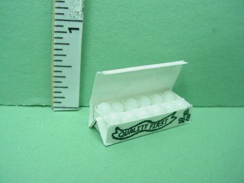 Miniature Eggs in a Carton  Hudson River #54192-1//12th Scale